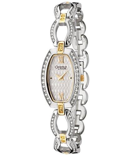 ブローバ 腕時計 レディース Women's Swarovski Crystal Two Tone Stainless Steelブローバ 腕時計 レディース