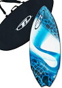 サーフィン スキムボード マリンスポーツ 【送料無料】Wave Zone Performance Fish Hook - Fiberglass Skimboard for Riders up to 200 lbs - 51 1/2