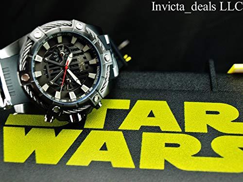 インヴィクタ インビクタ 腕時計 メンズ Invicta Men's Star Wars Stainless Steel Quartz Watch with Silicone Strap, Black, 26 (Model: 27208インヴィクタ インビクタ 腕時計 メンズ