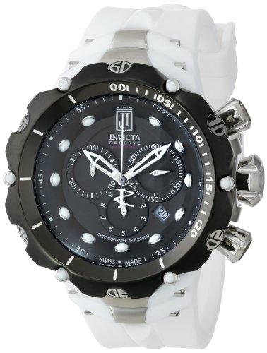 インヴィクタ インビクタ 腕時計 メンズ Invicta Men's 14421 Jason Taylor Analog Swiss-Quartz White Watchインヴィクタ インビクタ 腕時計 メンズ