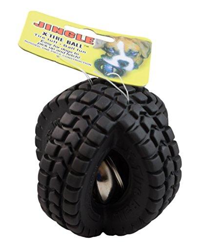 犬おもちゃ イヌ ねこ 病みつき ココ掘れわんわん Pet Qwerks Jingle X-Tire Ball Dog Toy, Small, 10-Pack犬おもちゃ イヌ ねこ 病みつき ココ掘れわんわん