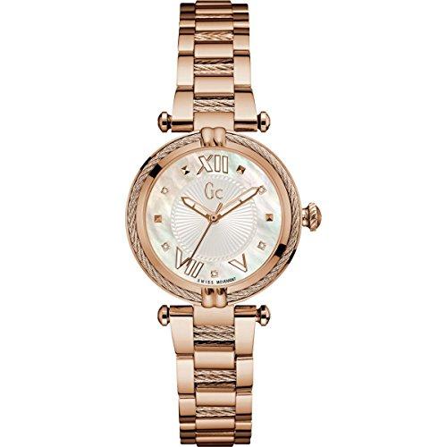 ゲス GUESS 腕時計 レディース Guess Gc Collection Women's Rose Watch Y18114l1ゲス GUESS 腕時計 レディース