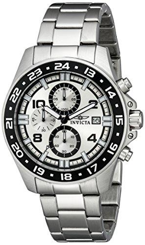 インヴィクタ インビクタ 腕時計 メンズ Invicta Men's 13866 Specialty Chronograph Silver Dial Stainless Steel Watchインヴィクタ インビクタ 腕時計 メンズ