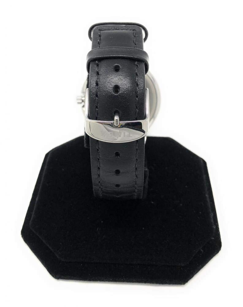 タイメックス 腕時計 メンズ Timex Men's Clemson University Tigers Watch Black Leather Band Aceタイメックス 腕時計 メンズ