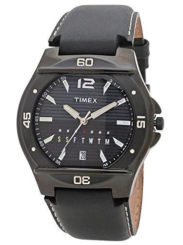 タイメックス 腕時計 メンズ Timex Analog Black Dial Men's Watch-TW000EL12タイメックス 腕時計 メンズ