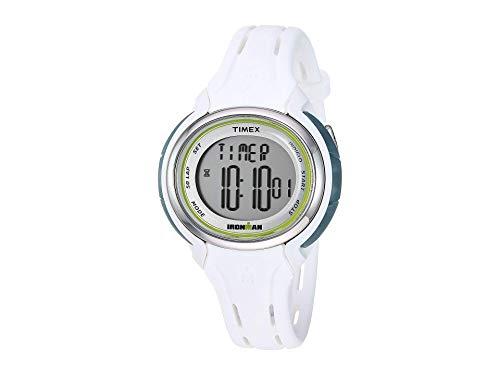 タイメックス 腕時計 レディース Timex Women's Ironman Sleek 50 Lap White One Sizeタイメックス 腕時計 レディース