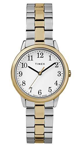 タイメックス 腕時計 レディース Timex Easy Reader Women's 30mm Stainless Steel TW2R58800タイメックス 腕時計 レディース