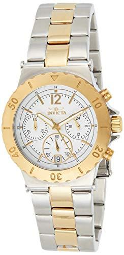 インヴィクタ インビクタ 腕時計 レディース Invicta Women's 14855 Specialty Chronograph 18k Gold Ion Plating and Stainless Steel Two-Tone Watchインヴィクタ インビクタ 腕時計 レディース