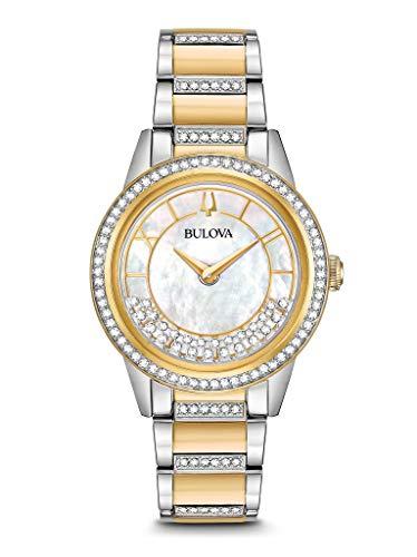 ブローバ 腕時計 レディース BULOVA Mother of Pearl Stainless Steel Watch-98L245ブローバ 腕時計 レディース