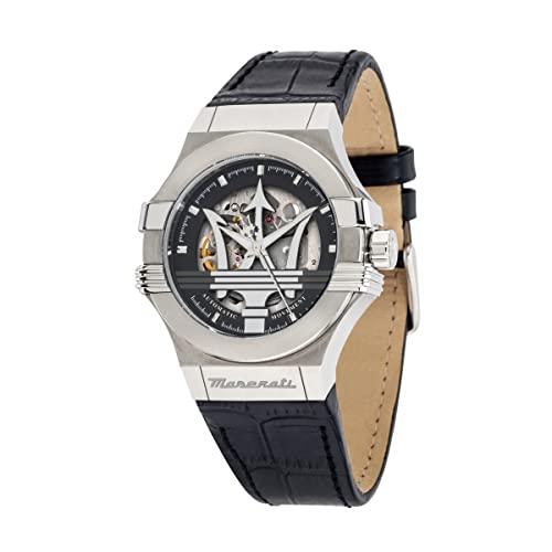 マセラティ イタリア 腕時計 メンズ Maserati Men's R8821108001 Analog Display Quartz Black Watchマセラティ イタリア 腕時計 メンズ