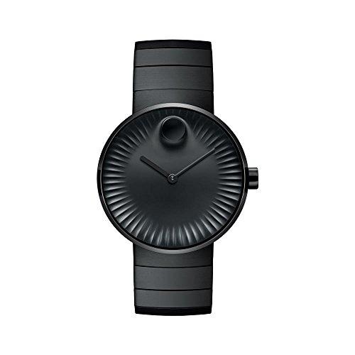モバード 腕時計 メンズ Movado Edge Black Aluminum Dial Swiss Quartz Mens Watch 3680007モバード 腕時計 メンズ