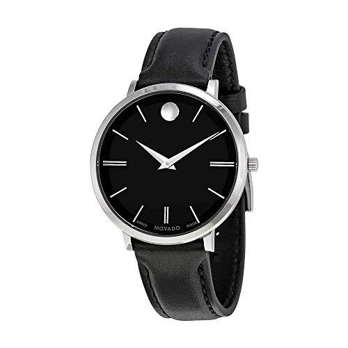 モバード 腕時計 レディース Movado Ultra Slim Black Sunray Dial Ladies Watch 0607090モバード 腕時計 レディース