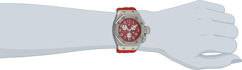 スイスレジェンド 腕時計 レディース Swiss Legend Women's 10535-05 Trimix Diver Chronograph Red Dial Red Silicone Watchスイスレジェンド 腕時計 レディース