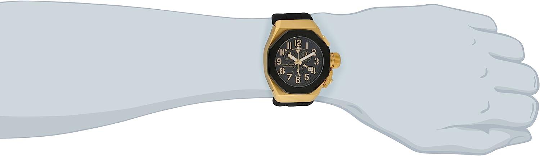 スイスレジェンド 腕時計 メンズ Swiss Legend Men's 10542-YG-01-BB Trimix Diver Chronograph Black Dial Black Silicone Watchスイスレジェンド 腕時計 メンズ