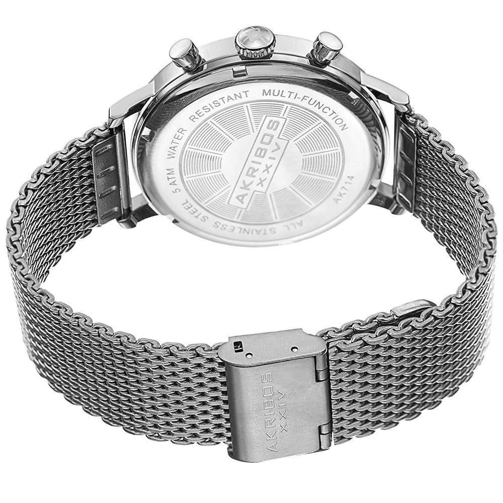 アクリボスXXIV 腕時計 メンズ Akribos XXIV Men's AK714SS Stainless Steel WatchアクリボスXXIV 腕時計 メンズ