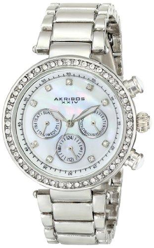 アクリボスXXIV 腕時計 レディース Akribos XXIV Women's AK681SS Lady Diamond Quartz Stainless Steel Bracelet WatchアクリボスXXIV 腕時計 レディース
