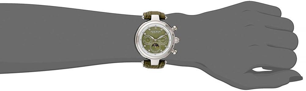 アクリボスXXIV 腕時計 レディース Akribos XXIV Women's AK510SS Mesh Wraparound Diamond-Accented Rectangular WatchアクリボスXXIV 腕時計 レディース