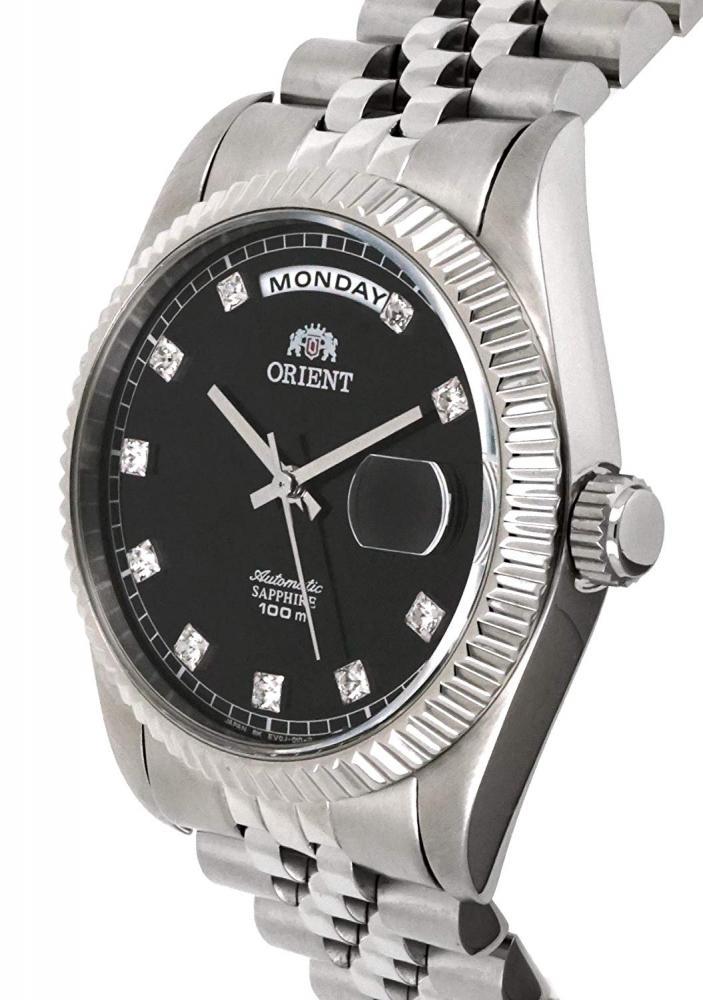 """オリエント 腕時計 メンズ EV0J003B ORIENT """"President"""" Classic Automatic Sapphire Watch EV0J003Bオリエント 腕時計 メンズ EV0J003B"""