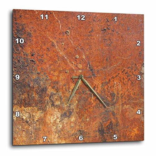 壁掛け時計 インテリア 海外モデル アメリカ 輸入 3dRose Old Rust - Wall Clock, 13 by 13-Inch (DPP_101743_2)壁掛け時計 インテリア 海外モデル アメリカ 輸入