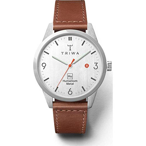 トリワ 腕時計 メンズ 北欧 ヨーロッパ Triwa Hu 39L White Watch | Brownトリワ 腕時計 メンズ 北欧 ヨーロッパ