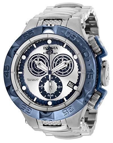 インヴィクタ インビクタ サブアクア 腕時計 メンズ Invicta Men's Subaqua Quartz Watch with Stainless Steel Strap, Silver, 28 (Model: 27681)インヴィクタ インビクタ サブアクア 腕時計 メンズ