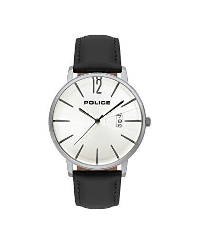 ポリス 腕時計 メンズ Police Mens Chronograph Quartz Watch with Leather Strap PL.15307JS/01ポリス 腕時計 メンズ