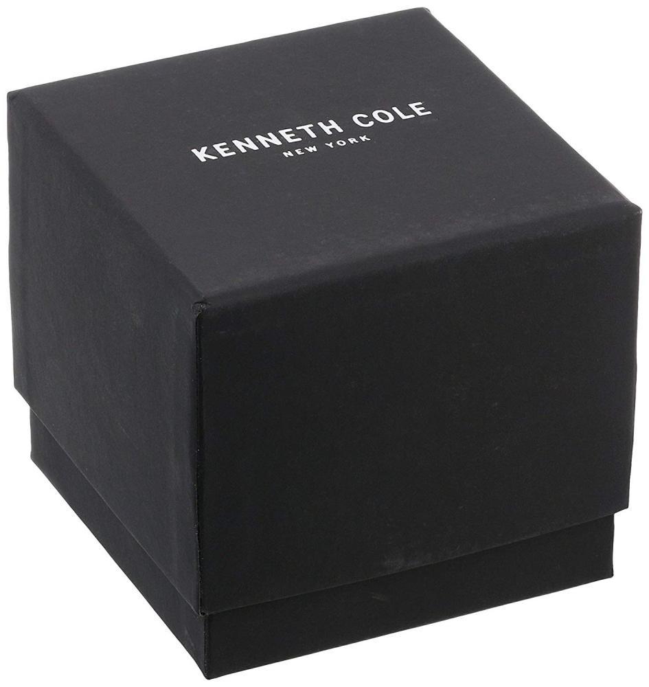 ケネスコール・ニューヨーク Kenneth Cole New York 腕時計 メンズ Kenneth Cole New York Men's Stainless Steel Automatic-self-Wind Watch with Leather Calfskin Strap, Brown, 24 (Model: 1003081ケネスコール・ニューヨーク Kenneth Cole New York 腕時計 メンズ