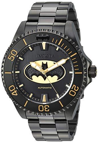 インヴィクタ インビクタ 腕時計 メンズ Invicta Men's DC Comics Automatic-self-Wind Watch with Stainless-Steel Strap, Black, 21.1 (Model: 26900)インヴィクタ インビクタ 腕時計 メンズ