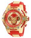 インヴィクタ インビクタ 腕時計 メンズ Invicta Men's Marvel Stainless Steel Quartz Watch with Silicone Strap, red, 30 (Model: 26906)インヴィクタ インビクタ 腕時計 メンズ