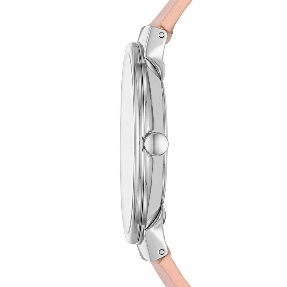 スカーゲン 腕時計 レディース Skagen Women Annelie Quartz Stainless Steel and Leather Watch Color: Silver, Blush (Model: SKW2753)スカーゲン 腕時計 レディース