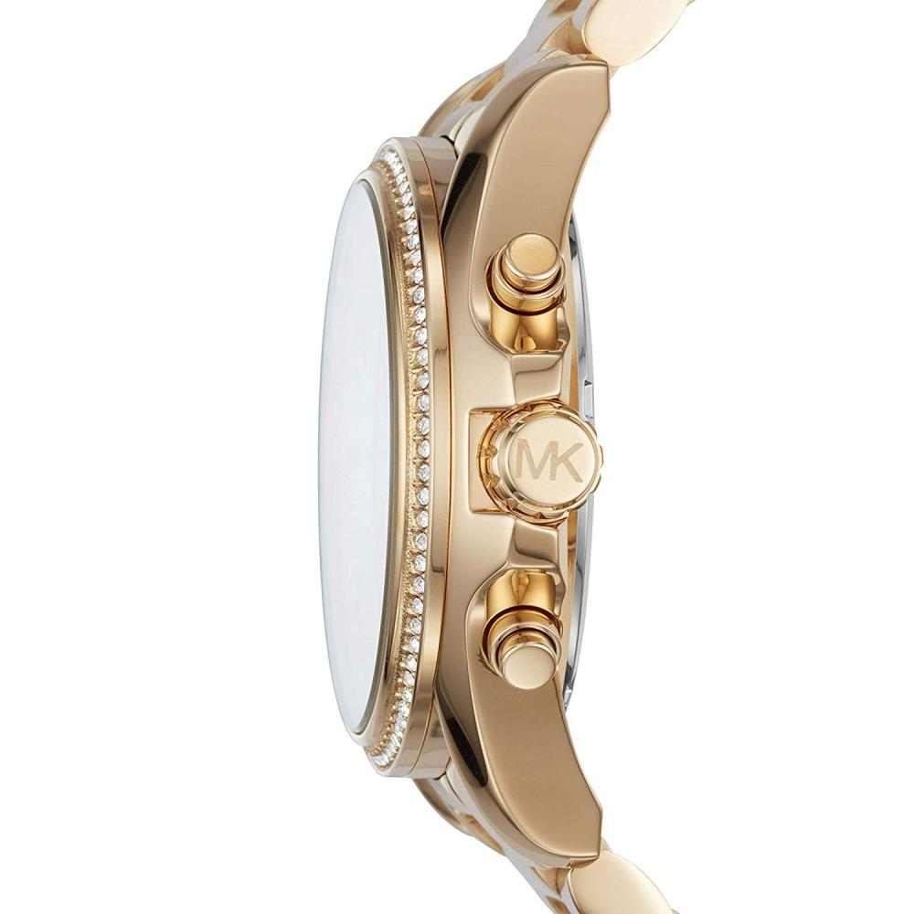 マイケルコース 腕時計 レディース マイケル・コース アメリカ直輸入 Michael Kors Women's Bradshaw Pav? Gold-Tone Watch MK6538マイケルコース 腕時計 レディース マイケル・コース アメリカ直輸入