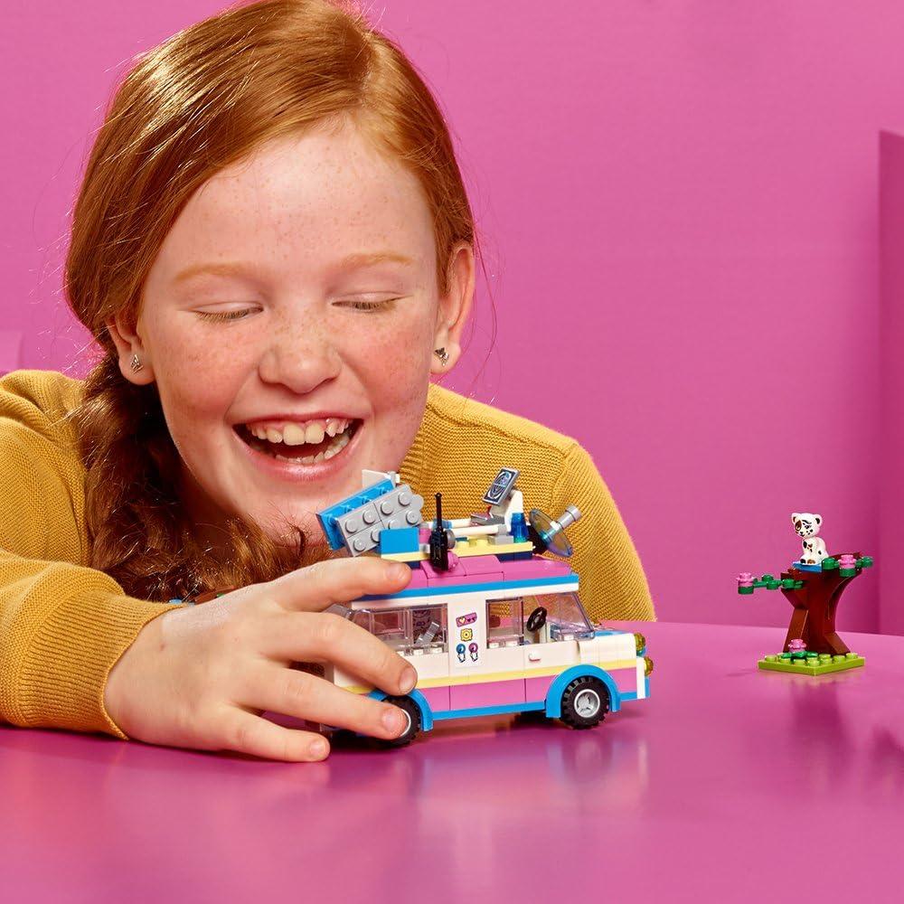 LEGO Friends Olivia?s Mission Vehicle 41333 Building Set 223 Piece