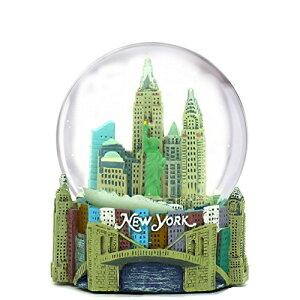 スノーグローブ 雪 置物 インテリア 海外モデル 【送料無料】Mini New York City Snow Globe (2.5 Inch) NYC Skyline in This Souvenir Figurine with Statue of Liberty, (45mm Globe)スノーグローブ 雪 置物 インテリア 海外モデル