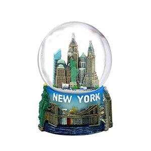 """スノーグローブ 雪 置物 インテリア 海外モデル 【送料無料】Mini New York City Snow Globe Featuring The NYC Skyline in This Souvenir Figurine with Statue of Liberty, 2.5"""" Tall (45mm)スノーグローブ 雪 置物 インテリア 海外モデル"""