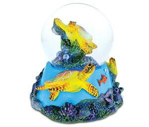 スノーグローブ 雪 置物 インテリア 海外モデル 【送料無料】COTA Global Nautical Island Sea Turtle Snow Globe 65mm Figure Intricate Art Resin Coral Sculpture Ocean & Sea Life Theme D?cor Handcrafted Haスノーグローブ 雪 置物 インテリア 海外モデル