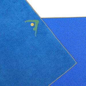 ヨガマット フィットネス Aurorae Synergy 2 in 1 Yoga Mat; with Integrated Non Slip Microfiber Towel. Best for Hot, Ashtanga, Bikram and Active Yoga Where You Sweat and Slip; Stops Slipping and Bunching; Patent Protectedヨガマット フィットネス