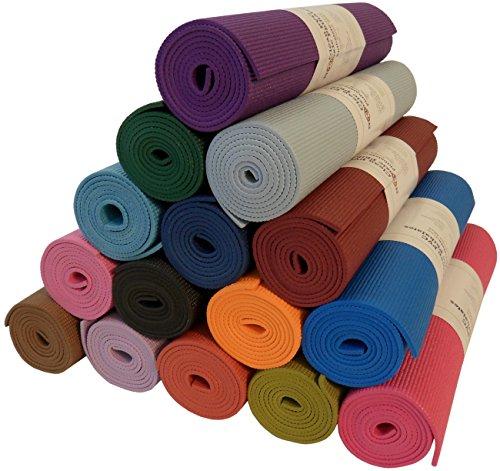 ヨガ・ピラティス, ヨガマット  Bean Products Yoga Monster Mat - Extra Thick 14 - Extra Long 72 - 24 Wide - Non-Toxic - Premium Quality - Hot Pink