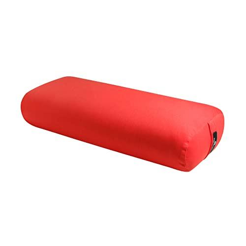 ヨガ・ピラティス, その他  BO-STNDRD-SOLID-POPPY Hugger Mugger Standard Yoga Bolster (Poppy) Rectangular Restorative Pillow Very Firm Handmade in the USA BO-STNDRD-SOLID-POPPY