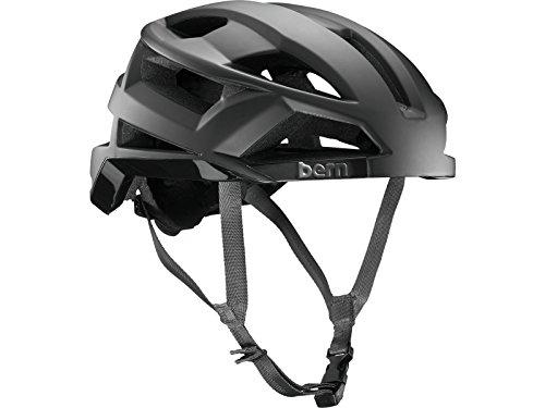 スケートボード・インラインスケート, ヘルメット  BM10MMBLK01 BERN Bike FL-1 Pave MIPS Helmet - Mens Matte Black Small BM10MMBLK01