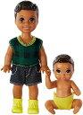 バービー バービー人形 日本未発売 Barbie Skipper Babysitters Inc. Dolls, 2 Pack of Sibling Dolls Includes Small Toddler Doll and Baby Doll in Diaper, for 3 to 7 Year Olds????バービー バービー人形 日本未発売