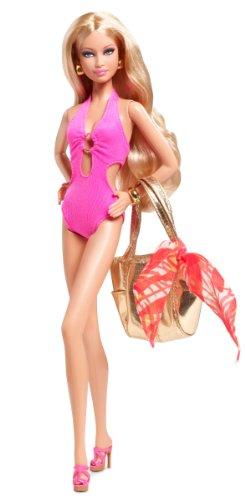 着せ替え人形・ドールハウス, 着せ替え人形  Barbie Basics Model No. 04 Collection 003 -- BRAND NEW Pink Swimsuit
