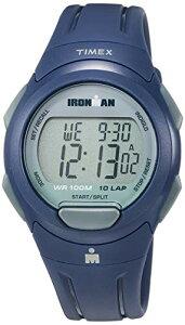 タイメックス 腕時計 メンズ 【送料無料】Timex Men's TW5M16500 Ironman Essential 10 Navy/Gray Resin Strap Watchタイメックス 腕時計 メンズ