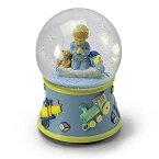 スノーグローブ 雪 置物 インテリア 海外モデル 【送料無料】Bedtime Prayers Boy, Rotating Musical Water Globe - Over 400 Song Choices - That's What Friends are for - Swissスノーグローブ 雪 置物 インテリア 海外モデル