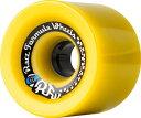 ウィール タイヤ スケボー スケートボード 海外モデル 72R784 【送料無料】Sector 9 Race Formula Skateboard Wheel, Yellow, 72mm 78Aウィール タイヤ スケボー スケートボード 海外モデル 72R784