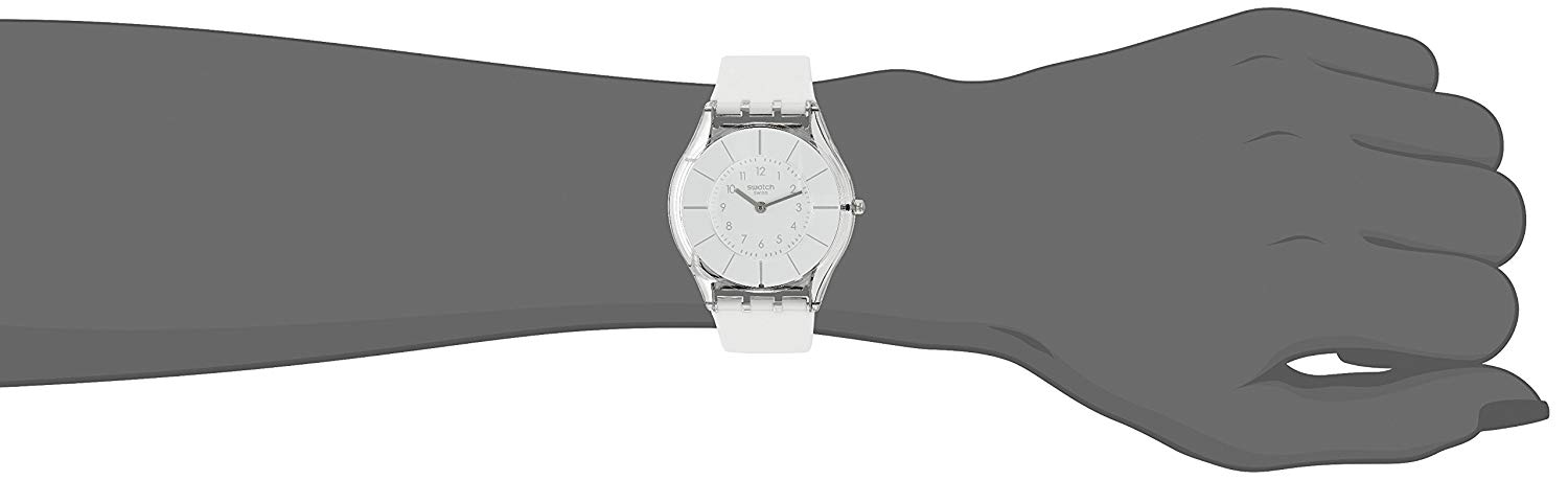 【当店1年保証】スウォッチSwatch WHITE CLASSINESS Ladies Watch SFK360