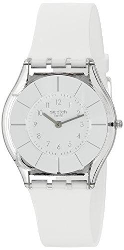 【当店1年保証】スウォッチSwatch WHITE CLASSINESS Ladies Watch SFK360