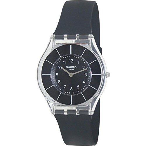 【当店1年保証】スウォッチSwatch BLACK CLASSINESS Ladies Watch SFK361