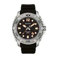 ブローバ腕時計メンズ96B228BulovaMen's96B228SeaKingAnalogDisplayJapaneseQuartzBlackWatchブローバ腕時計メンズ96B228