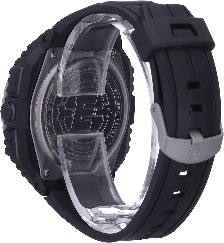 タイメックス 腕時計 メンズ T49950 Timex Men's T49950 Expedition Shock XL Vibrating Alarm Black Resin Strap Watchタイメックス 腕時計 メンズ T49950