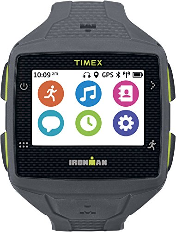 タイメックス 腕時計 メンズ TW5K89000 Timex TW5K89000F5 Ironman One GPS Watch, Full Size, Gray/Lime Greenタイメックス 腕時計 メンズ TW5K89000